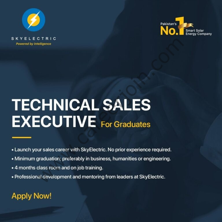 SkyElectric Pvt Ltd Jobs Technical Sales Executive