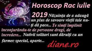 Horoscop iulie 2019 Rac