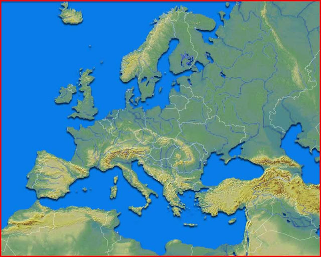 image: Europe Map Physical