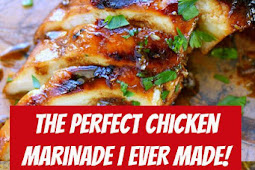 The Perfect Chicken Marinade I EVER Made! #chicken #marinade #chickenmarinade #dinner #easydinner