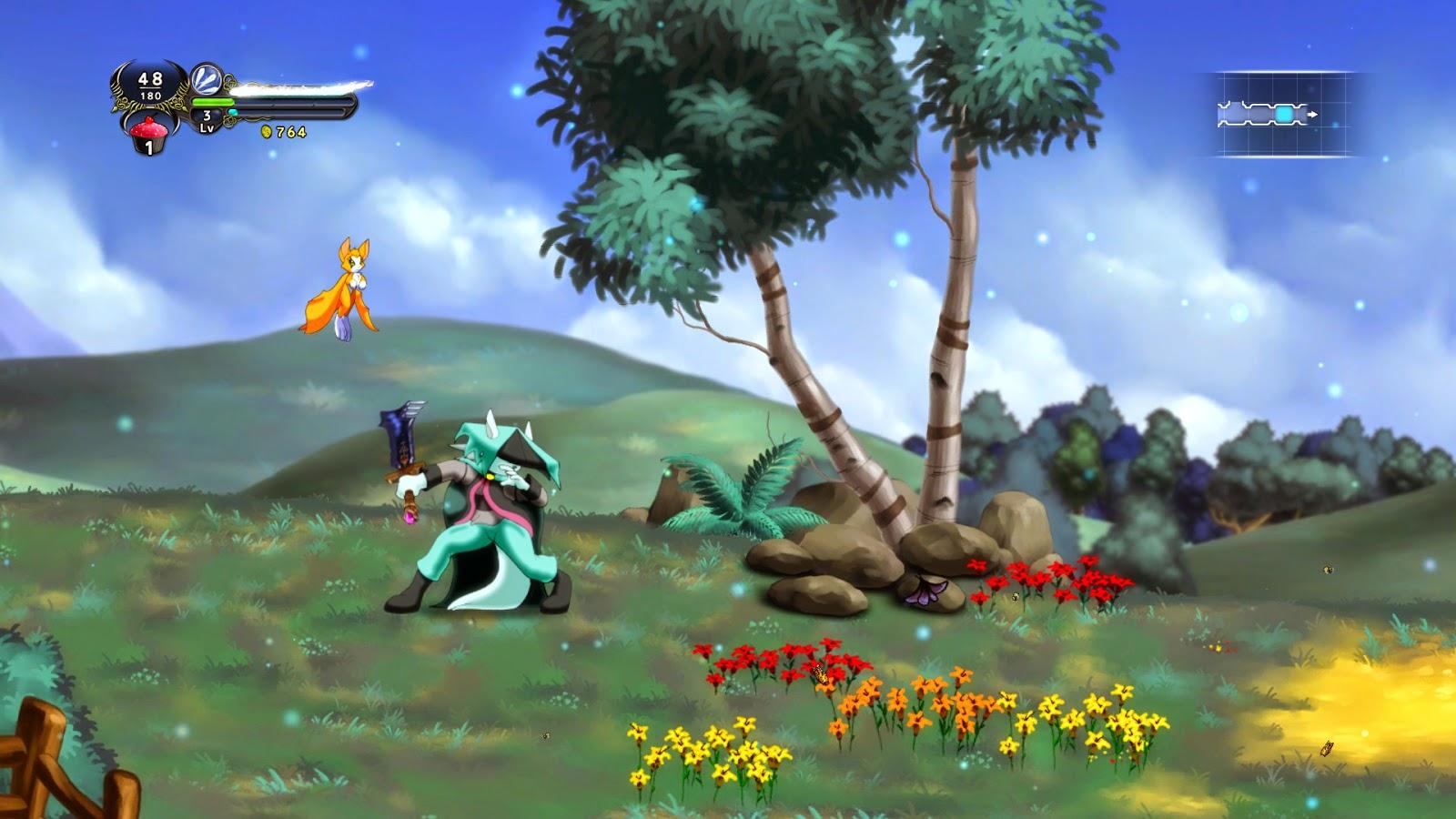 Aom Video Games Dust An Elysian Tail Pc 2013