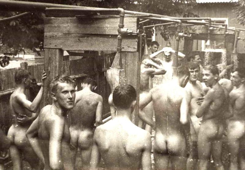 naked girls swimming