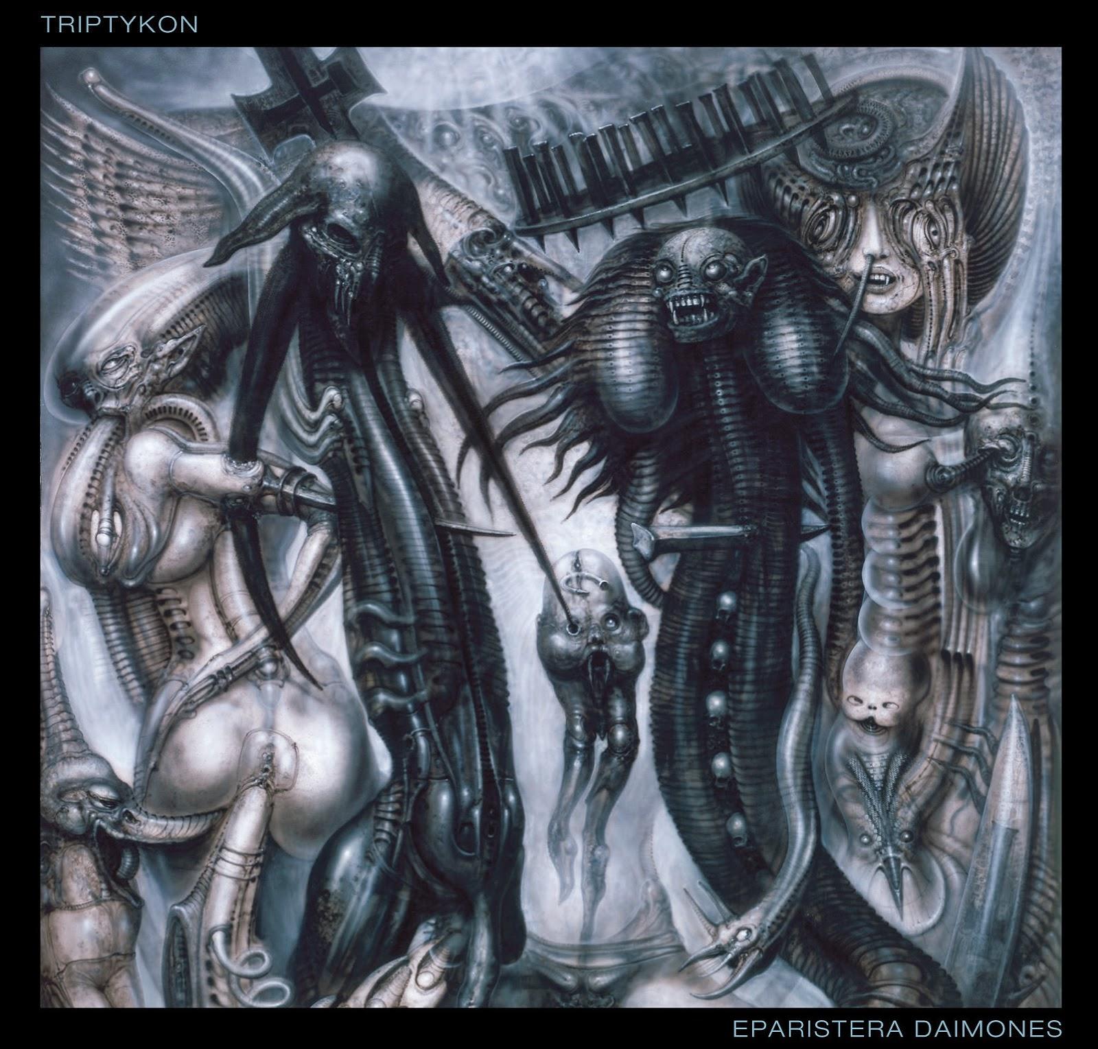 Metal Brutal Argentino Hr Giger Portadas De Discos The Little Things She Needs Malmo Black White Tsn0001342c0256 Hitam 38