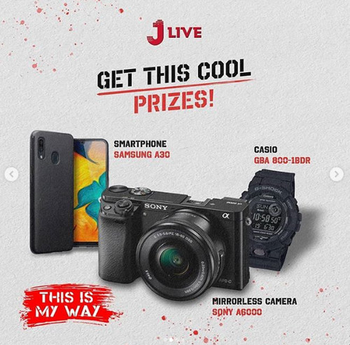 Photography Challenge by Jlive Hadiah Sony A6000