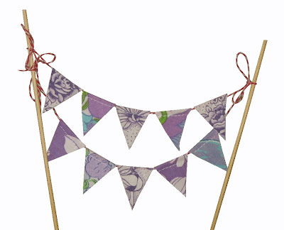 Bunting Cake Toppers Australia