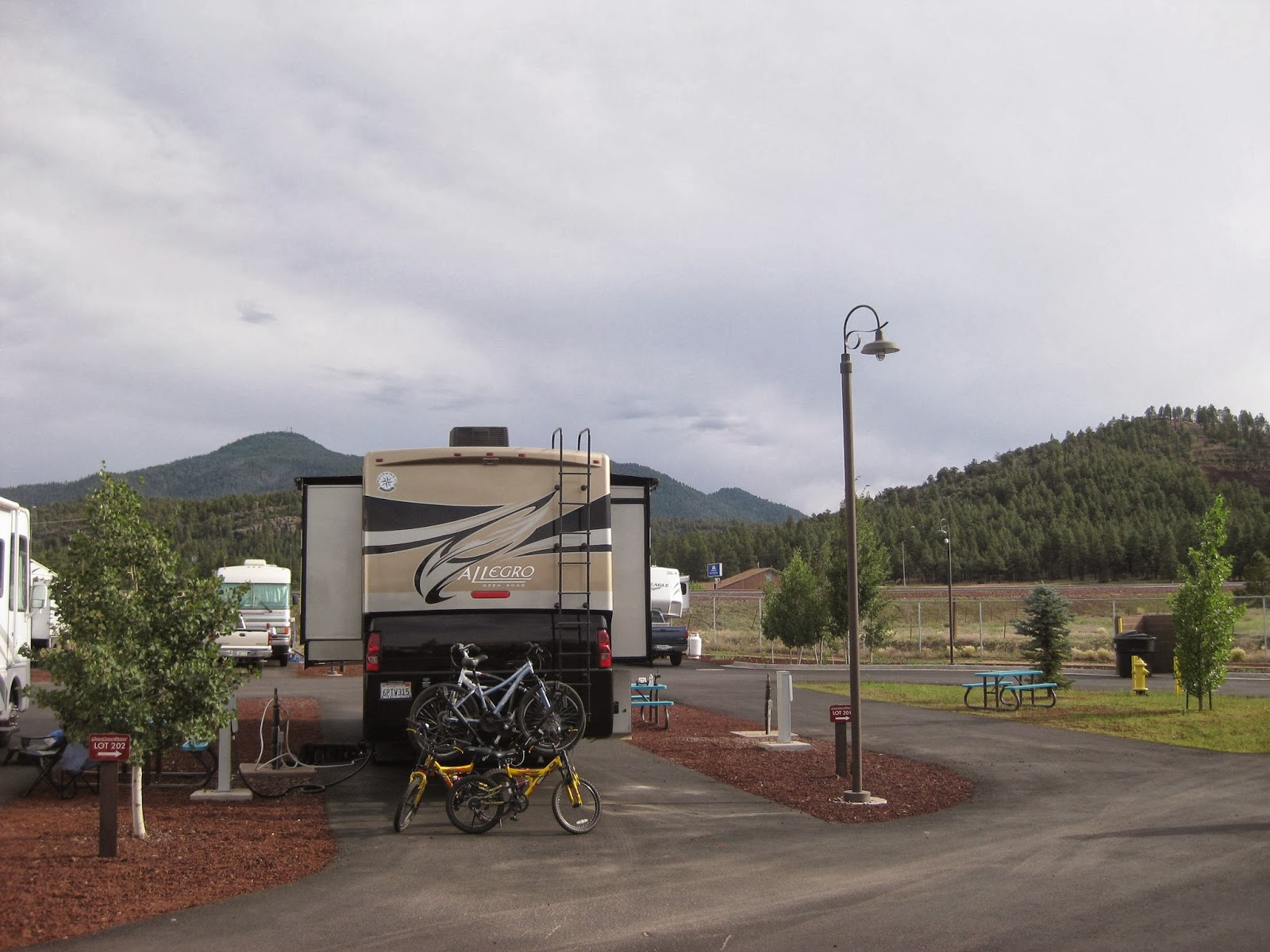 Campgroundcrazy Grand Canyon Railway Rv Park Williams