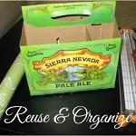 http://letsmakeitlovely.blogspot.com/2014/06/reuse-six-pack-bottle-carrier.html