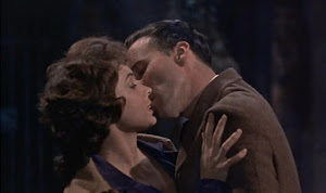 Marla Landi y Christopher Lee