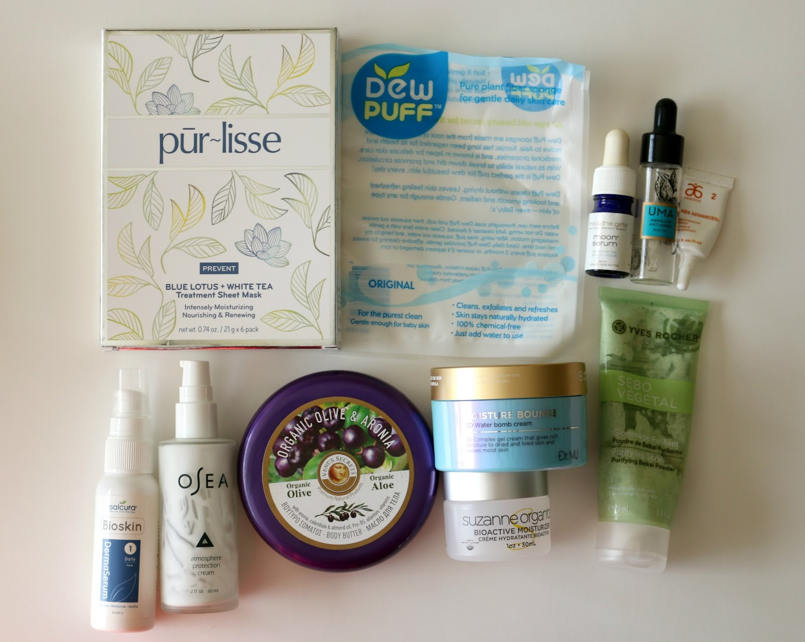 fall empties skincare