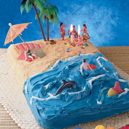 Hawaiian Beach Cake Recipe