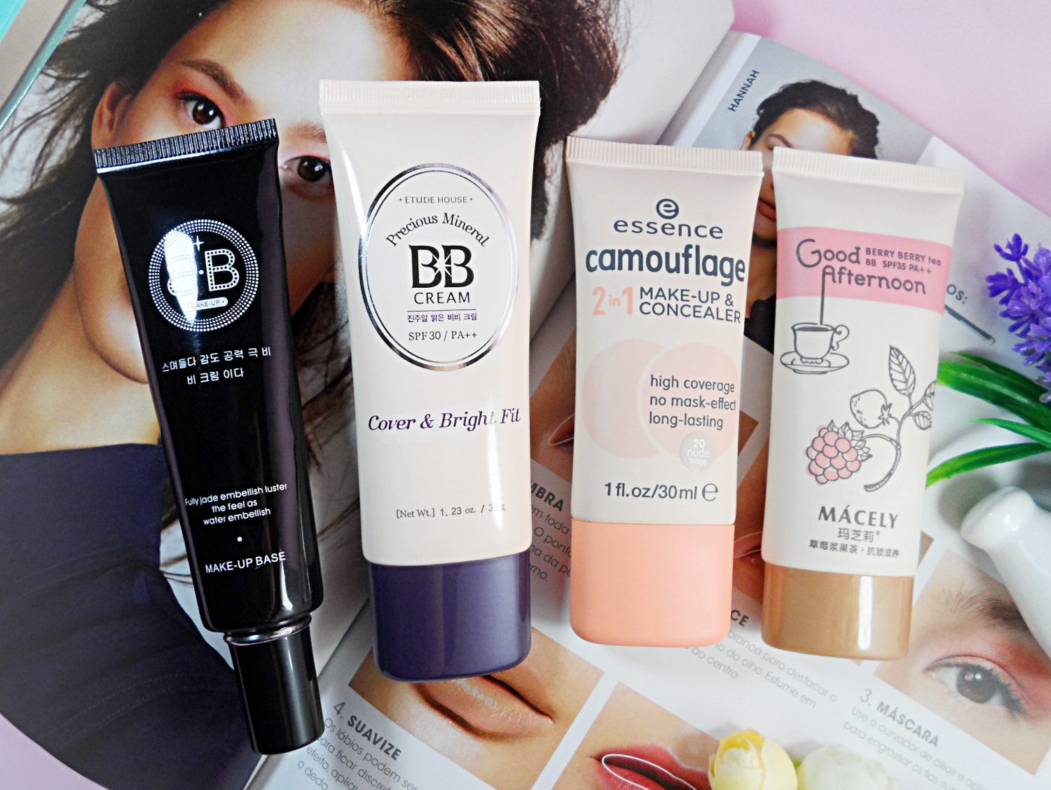 beauty balm etude house macely essence bb korean asian cream foundation blogger review liz breygel skin care