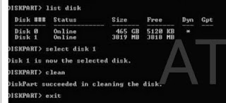 repair memory card by cmd