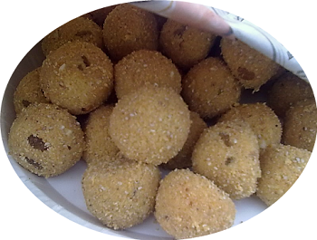 Ganesh Chaturthi Churma Ladoo Recipe||