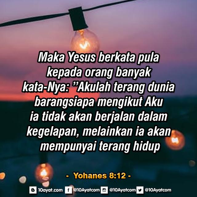 Yohanes 8:12