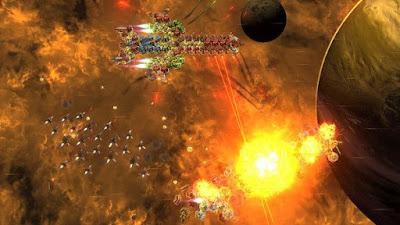 تجربة العبة الحرب في الفضاء  Galaxy