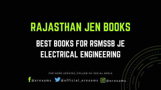 Best Books for RSMSSB JE Electrical Engineering