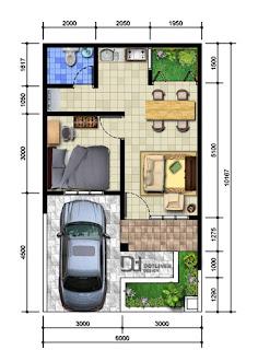 contoh tipe rumah 36
