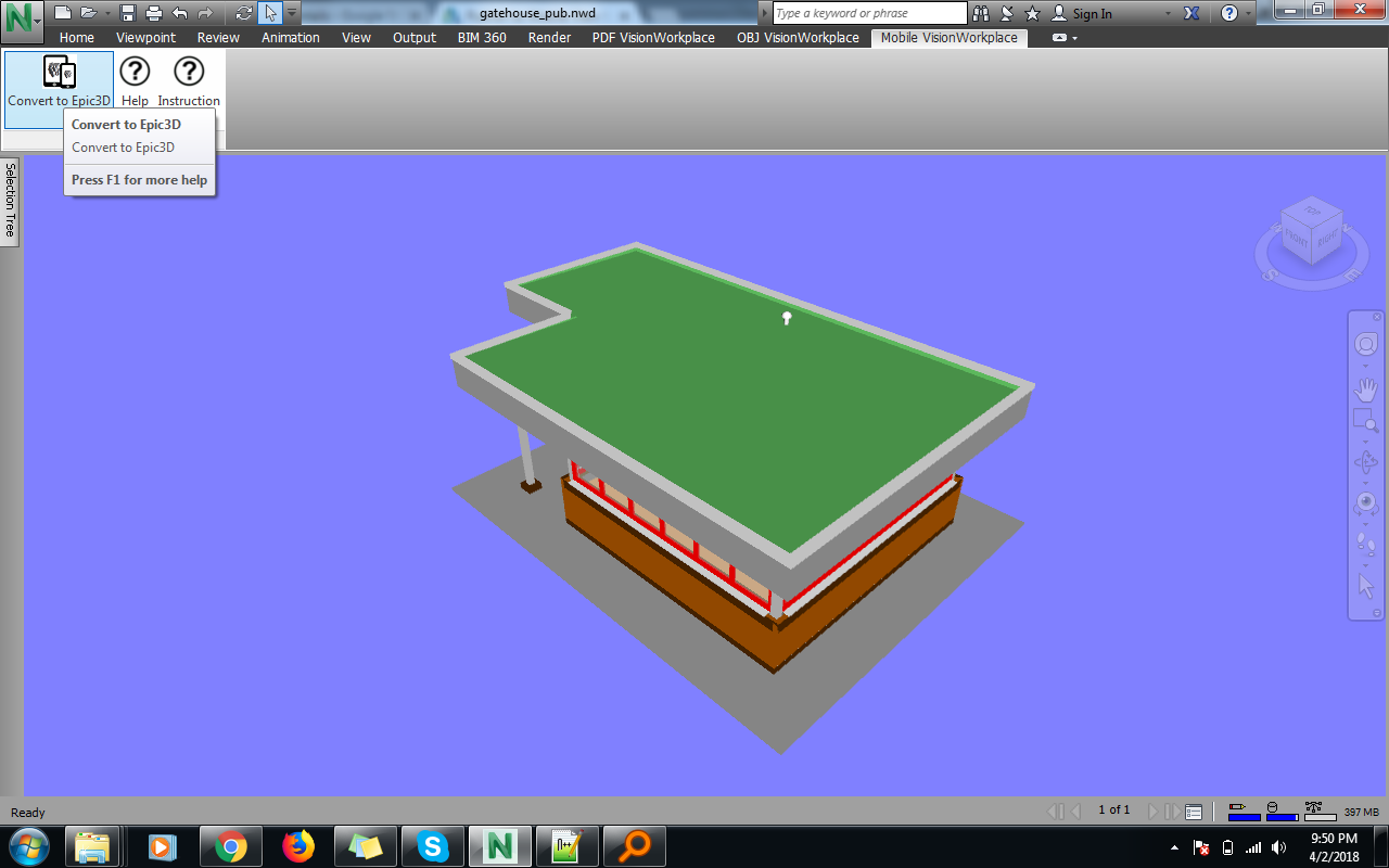 Revit Add-Ons: Publish to Mobile View for Autodesk® Navisworks®