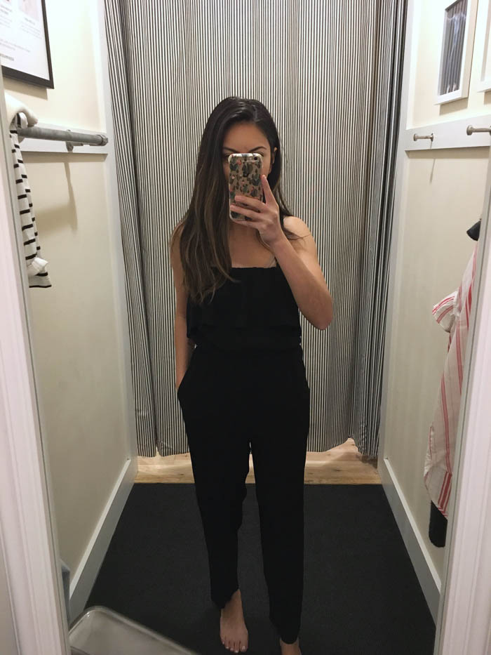 affordable black jumpsuit
