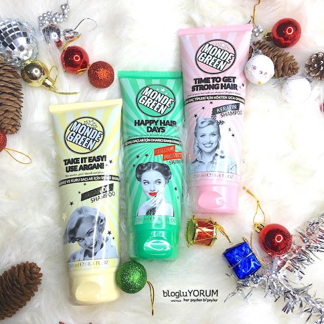 monde green argan şampuan renk koruyucu şampuan kreatin şampuan