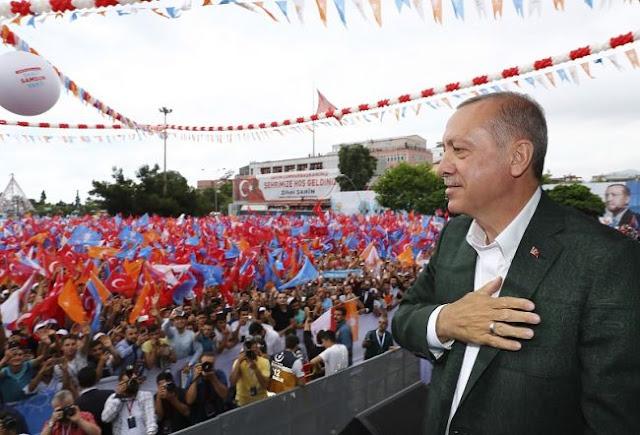 Ερντογάν για Ιμάμογλου: Να μην παραδώσουμε την Πόλη στους Έλληνες