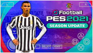 Download eFootball PES 2021 PPSSPP New Textures Best Camera PS5 Graphics & Full Latest Transfer For Android/PC