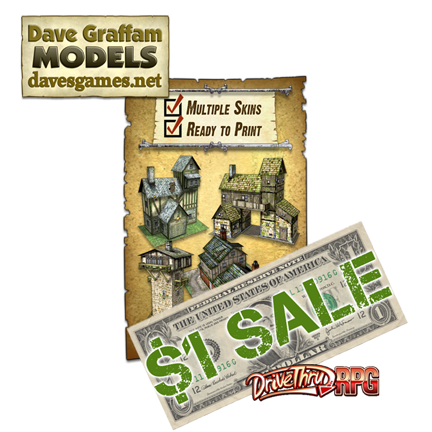 HUGE Dave Graffam Model Sale over at DriveThruRPG!