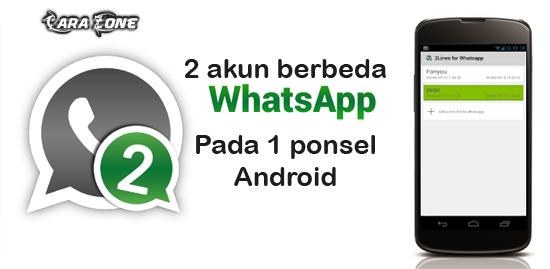 Cara Membuat dua Akun WhatsApp di Ponsel yang sama