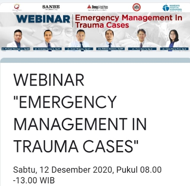 Emergency Management in Trauma Cases