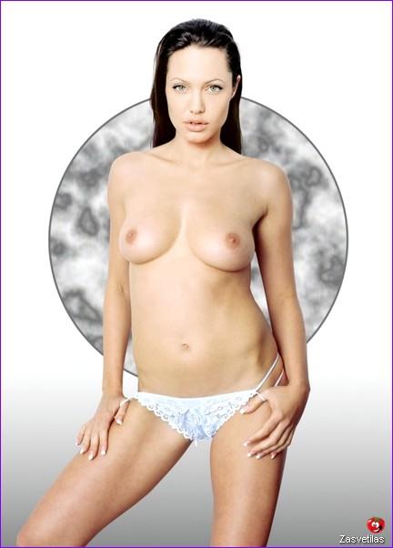 Анджелина Джоли откровенное фото