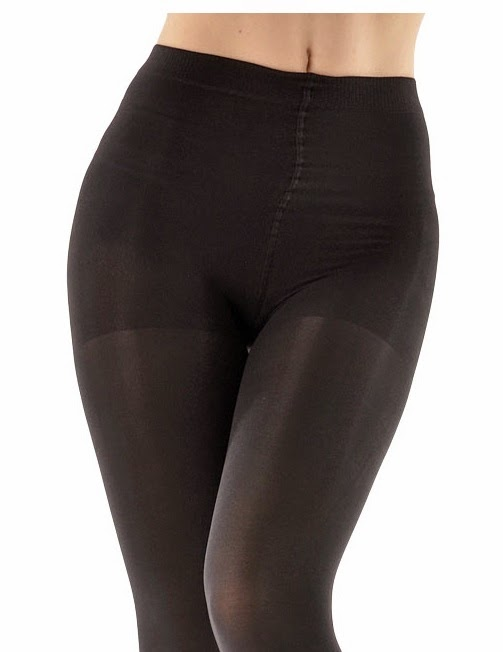 ca61232012963 The tights are not sheer to waist and have a boxer-style brief with a clear  demarcation from the leg. The brief is made from a denser fabric.