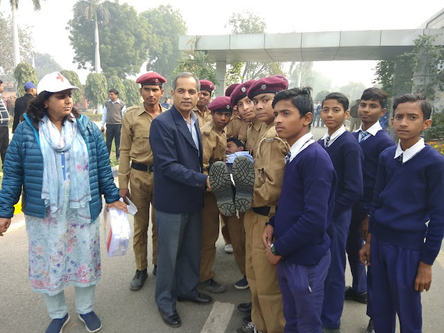 Sixth Practice of Disaster Management at Government School of Sarai Khwaja