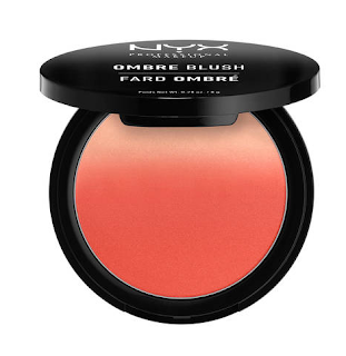 Colorete Ombre Blush de Nyx Cosmetics en el tono Soft Flush