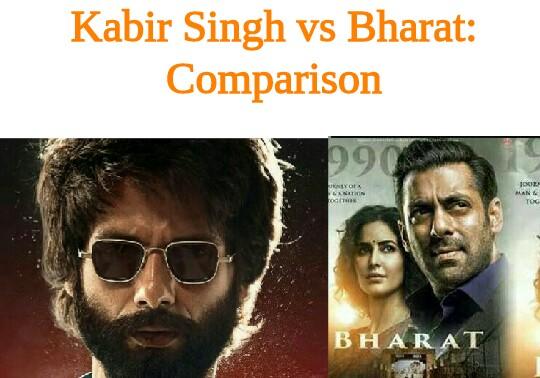 Kabir Singh vs Bharat: Box Office Comparison | India | Worldwide