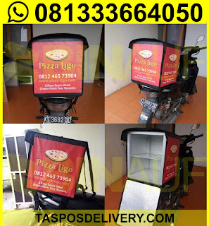 Produsen Tas delivery pizza Ligo Jakarta bandung bogor tangerang bekasi jogja solo semarang malang surabaya bali banjarmasin batam