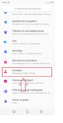 كيفية تسجيل الخروج من حسابك في Google Play