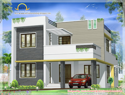 Beautiful Contemporary Villa design - 163 Sq M (1750 Sq. Ft) - January 2012