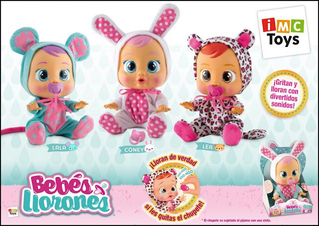 Bebes llorones, imc toys, juguetes, muñecas, muñecas interactivas, Lea