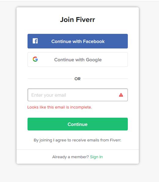 How to register on fiverr urdu