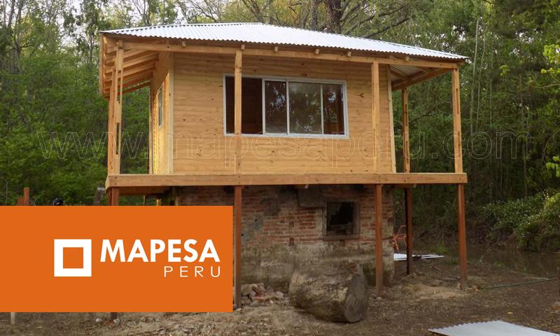 Mapesaperu casetas y m dulos para obras casas for Casas y casetas prefabricadas