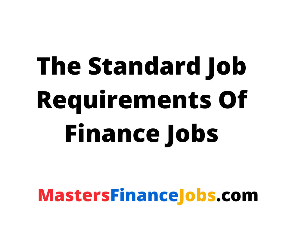Media Finance Jobs, Masters Finance Jobs, Media Finance Jobs: Everything You Need To Know About Masters Finance Jobs