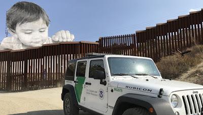 Mexico border baby