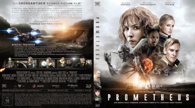 Prometheus Bluray Cover