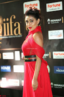Apoorva in a Stunning Tight Leg Split Sleeveless Red Gown at IIFA Utsavam Awards 56.JPG