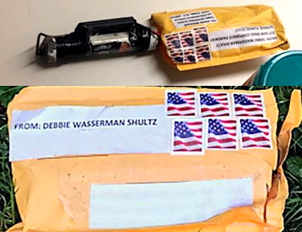 CNN bomb, mailed suspicious package