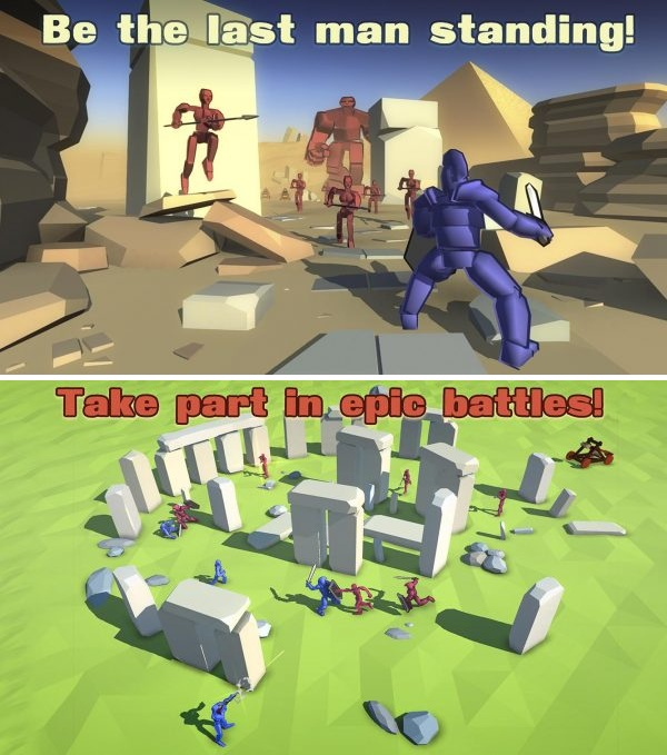Real Battle Simulator Mod Apk v1.1.0 (Free Shopping)