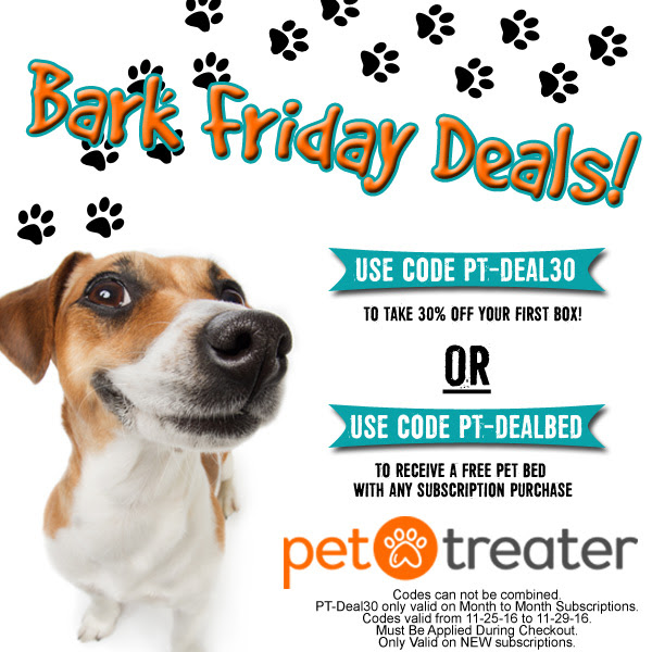 pet treater black friday coupon