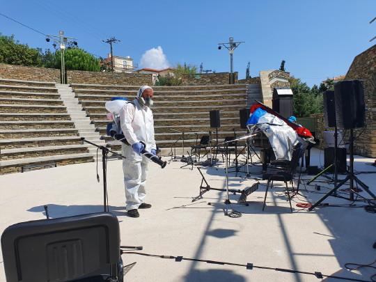 Προστασία-Ζαΐρης-Απολυμάνσεις- Ανοιχτό Θέατρο Άνδρος