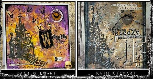 kath 39 s blog diary of the everyday life of a crafter tim holtz halloween inspiration series. Black Bedroom Furniture Sets. Home Design Ideas