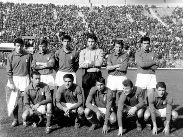 Formación de Italia ante Chile, Copa del Mundo Chile 1962, 2 de junio